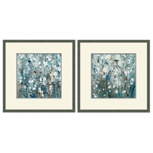 WHITE BLOSSOMS II & III (S/2 ONLY)giclee