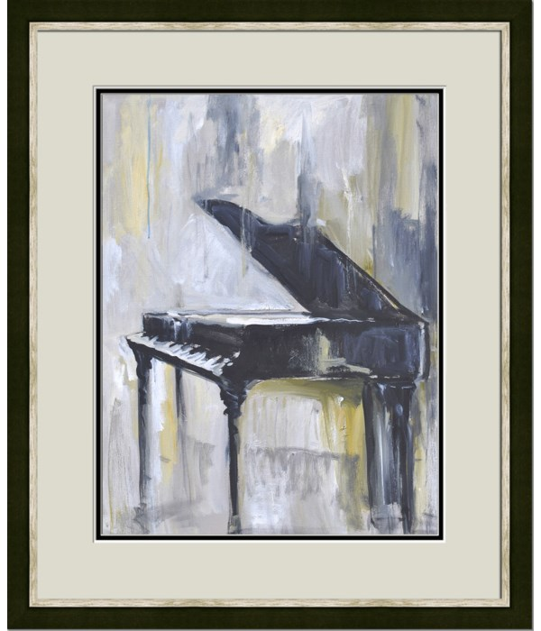 PIANO IN GOLD I