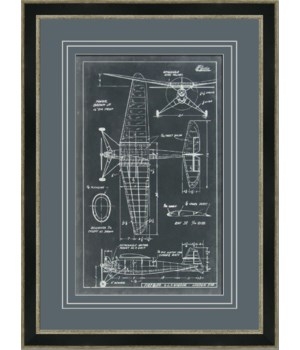 AERONAUTIC BLUEPRINT IV (giclee)