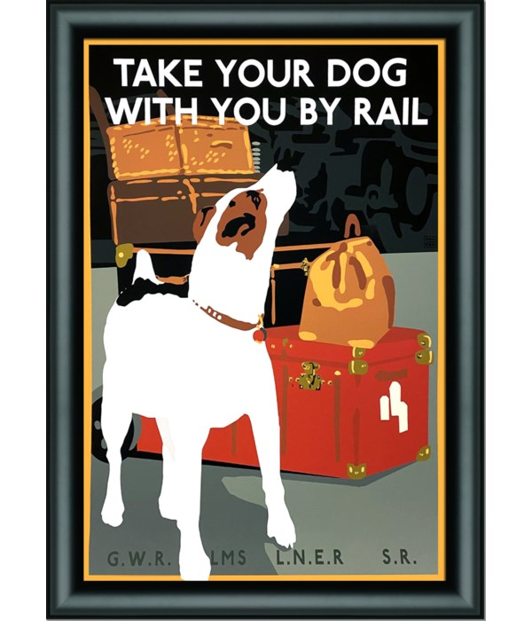 TAKE YOUR DOG BY RAIL