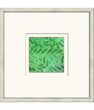 METALLIC FERNS I (green)