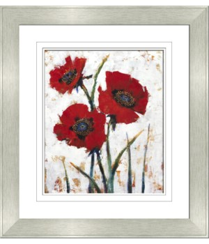 RED POPPY FRESCO I