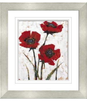 RED POPPY FRESCO II
