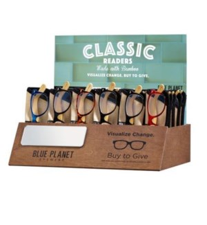 CLASSIC BOX SET-30PC ASSORTED BP2016 + WOODEN DISPLAY/HEADER