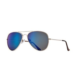WRIGHT - GOLD / TORTOISE TIPS / BLUE MIRROR POLARIZED LENS