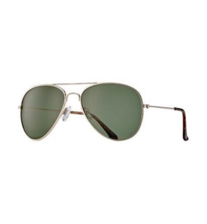 Wright - Gold / Tortoise Tips / Grey-Green Polarized