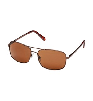 James- Bronze / Brown Polarized