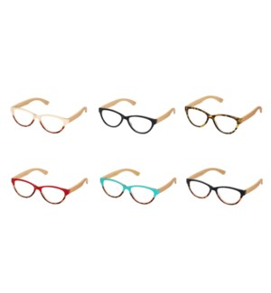 LUCIA READER ASSORTED COLORS