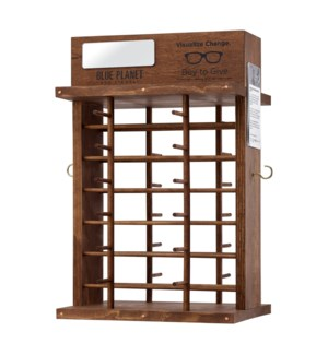 24PC ROTATING COUNTER DISPLAY-ORIGINAL BROWN