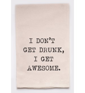 drunk/awesome