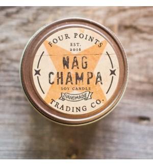 Nag Champa 8 oz Soy Candle