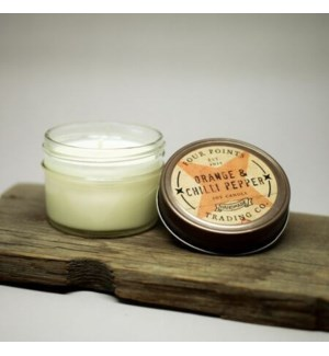 Orange and Chili Pepper 4 oz Soy Candle