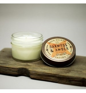 Oak Moss and Amber 4 oz Soy Candle