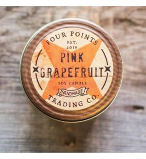Pink Grapefruit 8 oz Soy Candle