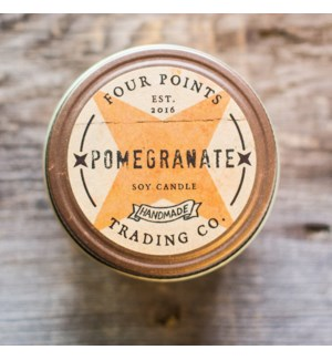 Pomegranate 8 oz Soy Candle