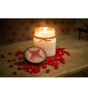 Red Hots 8 oz Soy Candle