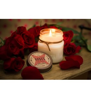 Rose 8 oz Soy Candle