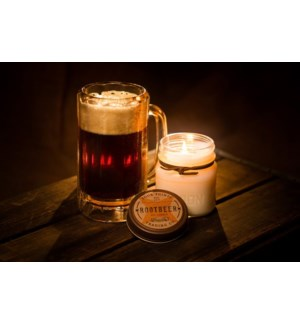 Root Beer 8 oz Soy Candle