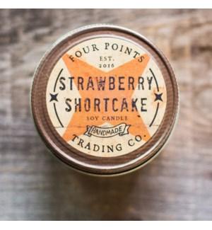 Strawberry Shortcake 8 oz Soy Candle