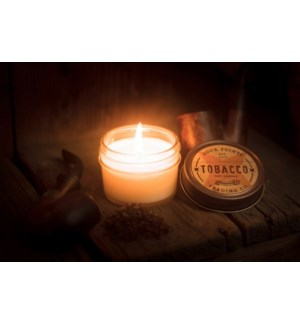 Tobacco 4 oz Soy Candle