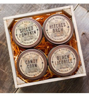 Trick or Treat 4 oz Candle Set