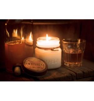 Whiskey 8 oz Soy Candle