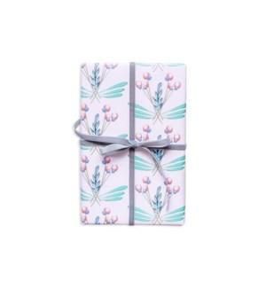 Pink Rosemaling Gift Wrap