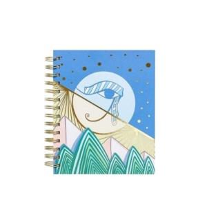 Eye of Horus Spiral Notebook