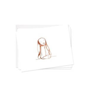 Toy Bunny Stationery Set