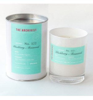 Blackberry & Rosewood 10oz. Candle