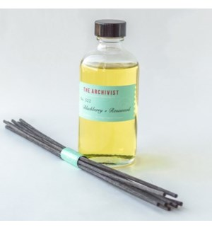 Blackberry + Rosewood 4oz. Reed Diffuser