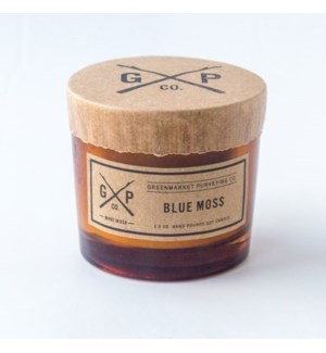 Blue Moss 2.5oz. Candle