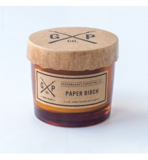 Paper Birch 2.5oz. Candle