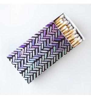 Metallic Brush Strokes matchbox - large