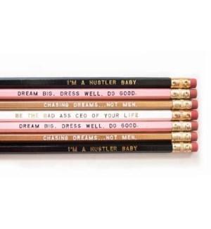 Bad Ass Boss Lady Pencils