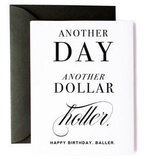 Baller Holler Bday