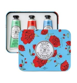 Azure Hand Cream Trio TIN