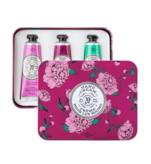Eggplant Hand Cream Trio TIN