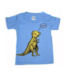 T-rex/Bacon Heather Blue Toddler T 4T
