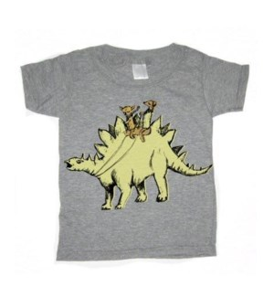 Stego Heather Gray Toddler T 3T