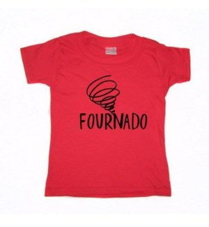 Fournado Red Toddler T 5T