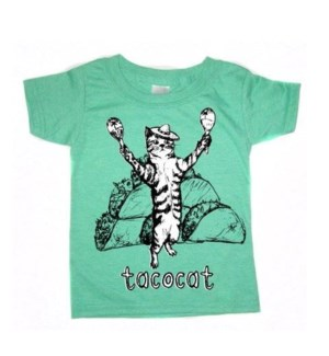 Tacocat Heather Green Toddler T 3T