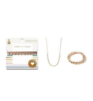 Four-Wrap Rafiki Bracelet - Turquoise