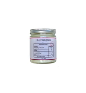 Coconut Pitaya Candle - 8 oz Jar