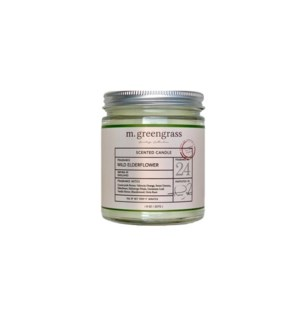Wild Elderflower Candle - 8 oz Jar