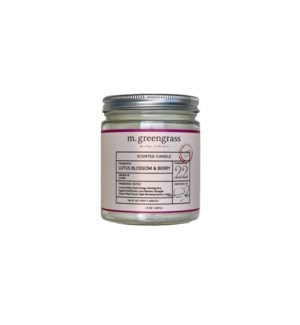 Lotus Blossom Candle - 8 oz Jar