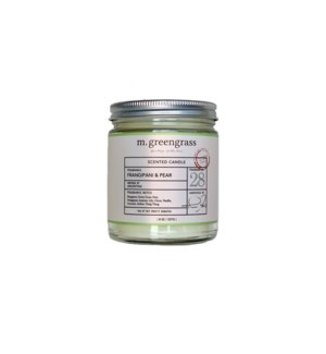 Frangipani + Pear Candle - 8 oz Jar