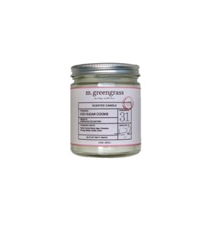 Iced Sugar Cookie Candle - 8 oz Jar