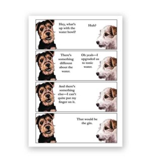 Gin Dog Card