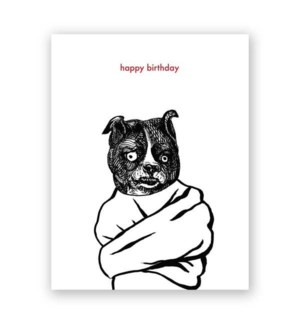 Crazy Bitch Birthday Card